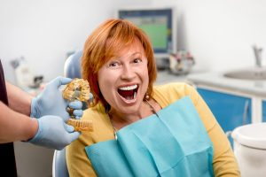 Have you ever considered getting dentures from your dentist in Deer Park?